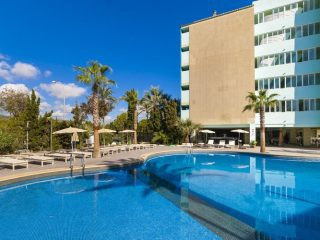 BH Mallorca Apartments main pool and building