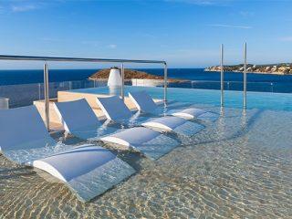Elba Sunset Mallorca Thalasso Spa infinity pool