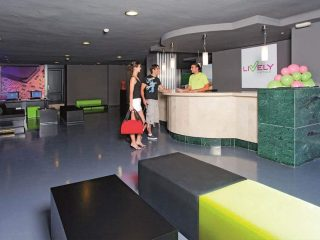 Lively Magaluf Hotel Reception desk