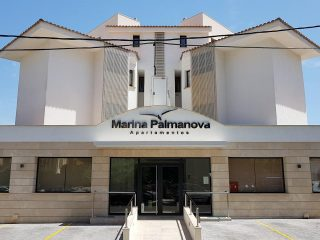 Marina Palmanova Apartamentos Main Entrance