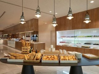 Melia Calvia Beach breakfast buffet