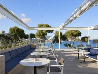 Melia Calvia Beach buffet terrace
