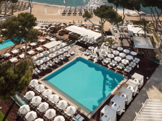 Melia South Beach aerial view Magaluf