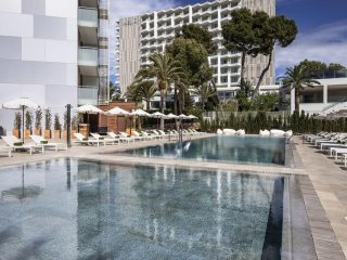 Melia South Beach pools