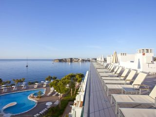 Ponent Mar Apartaments Palmanova Magaluf Roof top terrace