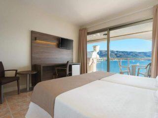 Seramar Comodoro Palmanova Room sea view