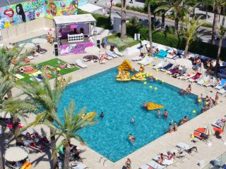 Sol House The Studio pool party Magaluf
