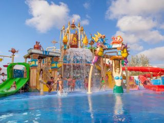 Sol Katmandu Park & Resort Splash pool Magaluf waterpark