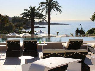 Son Caliu Spa & Oasis sea view from solarium