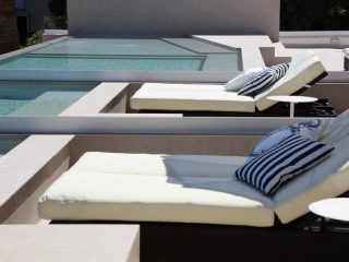 Son Caliu Spa & Oasis sunbeds pool