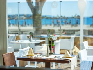 Son Matias Beach Palmanova Restaurant by the sea