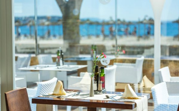 Son Matias Beach Palmanova Restaurant by the sea