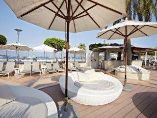 Son Matias Beach Terrace bali beds sea view bar pool