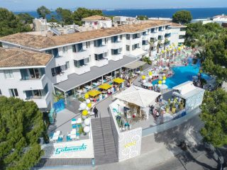 Sotavento Club Apartments aerial view