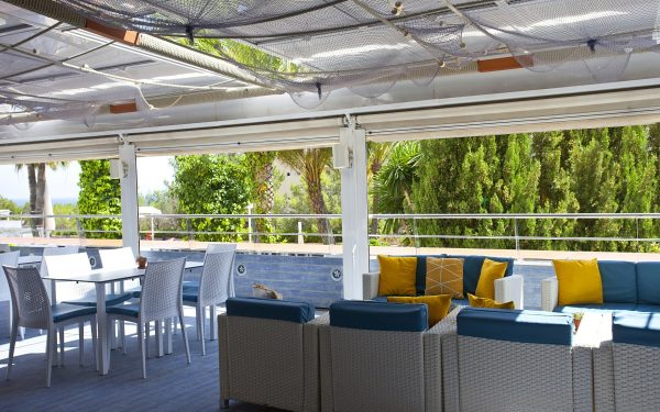 Vistasol Hotel Aptos & Spa Terrace by the sea Magaluf